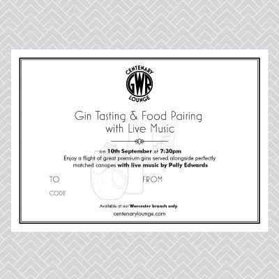Gin Tasting & Food Pairing with Live Music