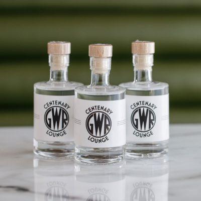 Mini bottle of Hussingtree Gin