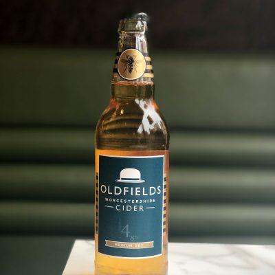 Oldfields Medium Dry Cider - 500ml bottle
