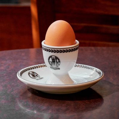 GWR Egg Cup & Saucer