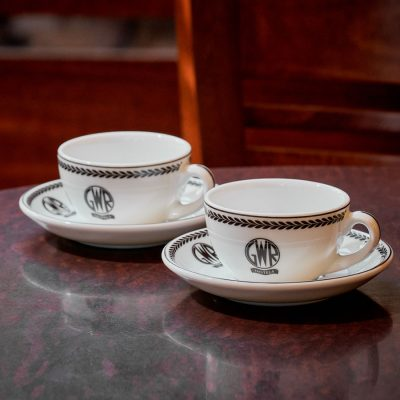 GWR Espresso Cup & Saucer