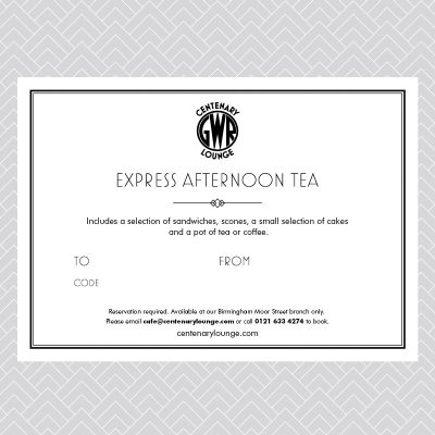Express Afternoon Tea Voucher