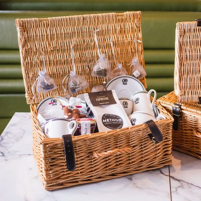 Luxury Coffee & Tea Hamper Set