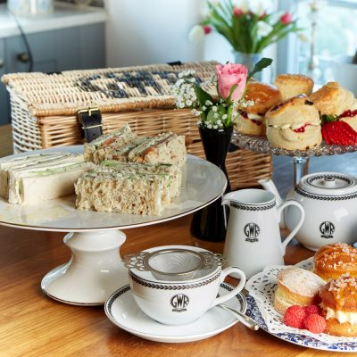 Luxury Afternoon Tea in a GWR Hamper